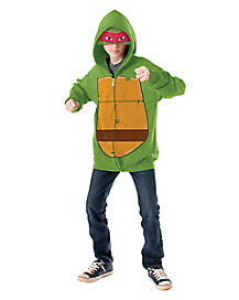 Kids Raphael Hoodie- Teenage Mutant Ninja Turtles