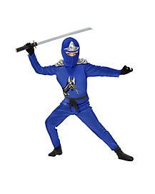 Kids Avenger Armor Blue Ninja Costume
