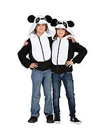 Kids Panda Hoodie