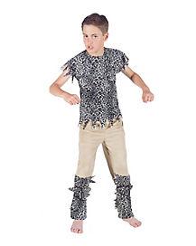Kids Cave Boy Costume