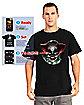 Adult Digital Dudz Psychopath Clown T-Shirt