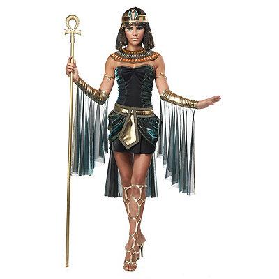 Roaring 20s Costumes- Cheap Flapper Dresses, Gangster Costumes Adult Egyptian Goddess Costume $59.99 AT vintagedancer.com