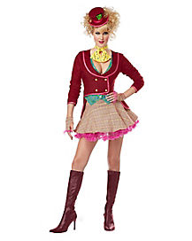 Adult Skirted The Mad Hatter Costume