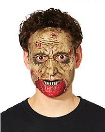No Skin On Chin Zombie Mask