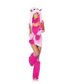 Adult Pink Puffer Monster Costume