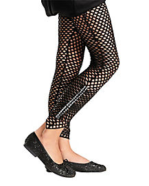 Black Studded Fishnet Tights