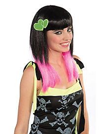Green Bow Hair Clip