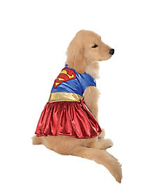 Supergirl Dog Costume - DC Comics