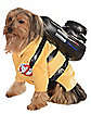 Ghostbuster Jumpsuit Dog Costume - Ghostbusters
