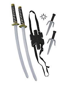Ninja Double Sword Weapon Set