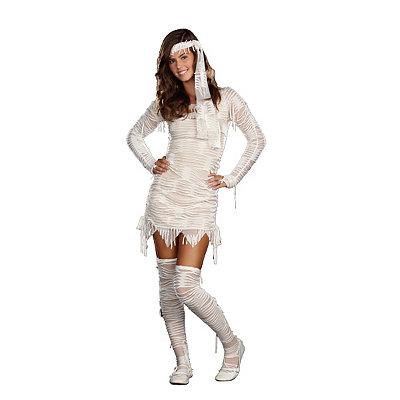 Roaring 20s Costumes- Cheap Flapper Dresses, Gangster Costumes Tween Yo Mummy Costume $39.99 AT vintagedancer.com
