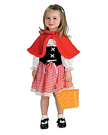 Toddler Little Red Riding Hood Costume