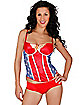 Wonder Woman Adult Womens Corset