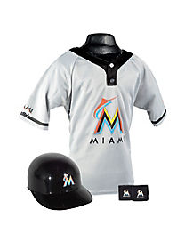 MLB Miami Marlins Uniform Set