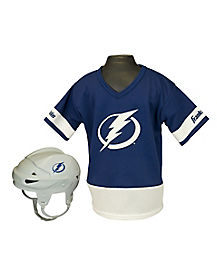 NHL Tampa Bay Lightning Uniform Set