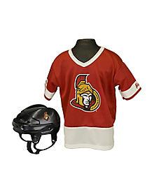 NHL Ottawa Senators Uniform Set