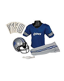 NFL Detroit Lions Uniform Set