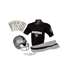 NFL Oakland Raiders Uniform Set
