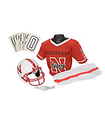 Nebraska Cornhuskers Uniform Set