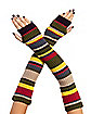 Doctor Who Striped Arm Warmers