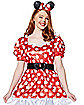 Adult Red Minnie Mouse Costume - Disney