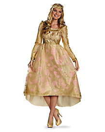 Adult Aurora Coronation Gown Costume - Maleficent
