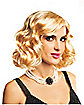 Blonde Hollywood Flapper Wig