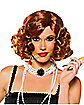Red Hollywood Flapper Wig
