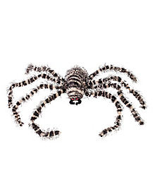 Creepy Striped Spider - Decorations