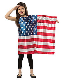 Kids USA Flag Dress Costume