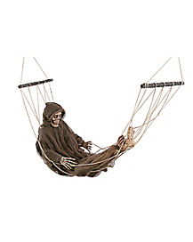5 ft Lazy Bones with Hammock - Decorations