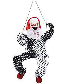 Animated Swinging Clown - Decorations