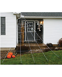 12 ft Super Yard Spider Web - Decorations
