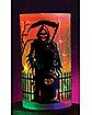 Reaper Glitter Pillar Candle