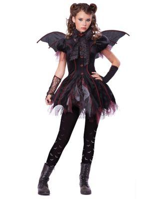 Steampunk Kids Costumes | Girl, Boy, Baby, Toddler Kids Victorian Vampiress Costume by Spirit Halloween $54.99 AT vintagedancer.com