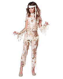 Tween Mysterious Mummy Costumr
