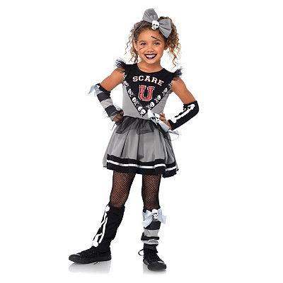 Kids Scare U Cheerleader Costume