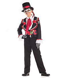 Kids Senor Day of the Dead Costume
