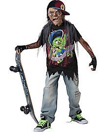 Kids Skater Zombie Costume