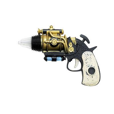 Men's Steampunk Goggles, Guns,  Accessories Steampunk Revolver $8.99 AT vintagedancer.com