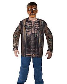 Kids Scarecrow Skeleton Costume Kit