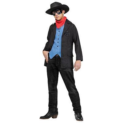 Victorian Mens Suits & Coats Kids Wild West Avenger Cowboy Costume $44.99 AT vintagedancer.com