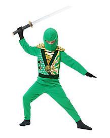 Kids Avenger Armor Green Ninja Costume