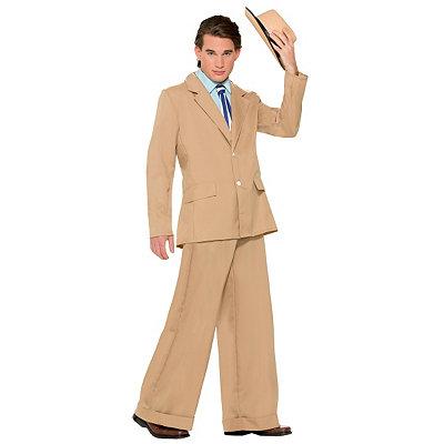 Men's Vintage Style Suits, Classic Suits Adult Gold Coast Gentleman Costume $49.99 AT vintagedancer.com