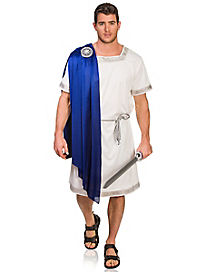 Adult Blue Greek Emperor Costume