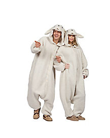 Adult Ollie the Sheep Pajama Costume