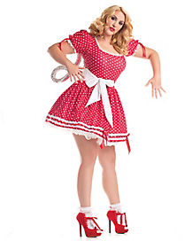Adult Wind-Up Doll Plus Size Costume