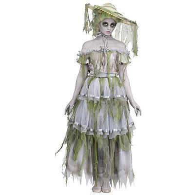 Vintage Inspired Halloween Costumes Adult Southern Belle Zombie Costume $69.99 AT vintagedancer.com