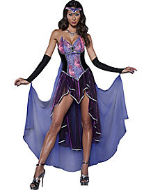 Adult Seductive Sorceress Witch Costume - Theatrical