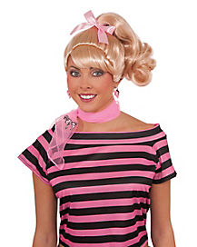 50s Cutie Wig With Bow